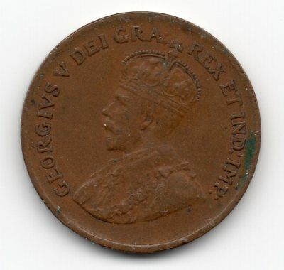 1928 Canada Small One Cent