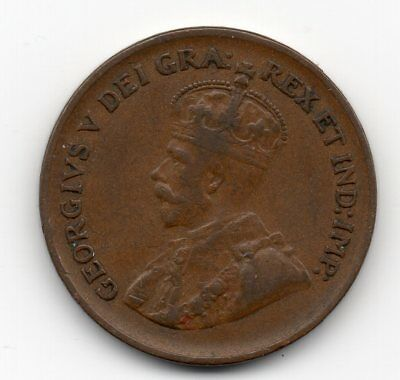 1933 Canada Small One Cent