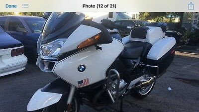 2009 BMW R-Series  2009 BMW R1200 RTP POLICE IN GREAT  RUNNING CONDITION
