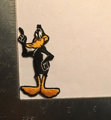 "Daffy Duck Looney Tunes Patch Cartoon Warner Brothers WB Vintage 3"" X 1.75"" V2"
