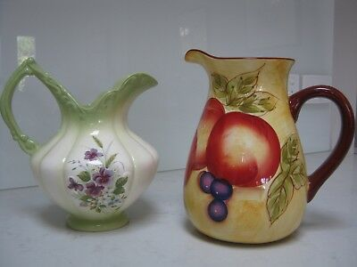 Two Traditional China Jugs