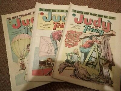 3 Judy And Tracy Comics Sept-Oct 1986 I Hate Janey