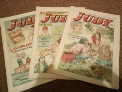 3 Judy Comics July 1989 The Best Of Enemys