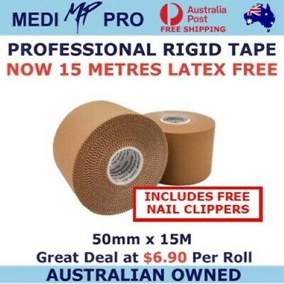 Sports strapping tape: Premium Rigid Tape 10 rolls, 50mm x 13.7m