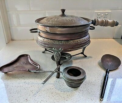 Antique_Hand Crafted, Turkish_Copper, Brazier_ Cooker