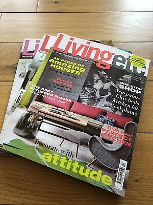 Living Etc Magazine - Apr/May 2011, Aug 2012 - 3 Issues