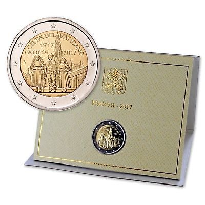 2 Euro 2017 - BU -VATICAN -  100th of Fatima Apparitions