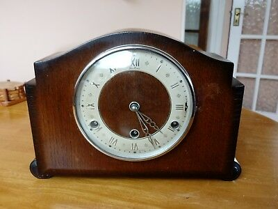 Antique Bentima Westminster Chime Mantle Clock