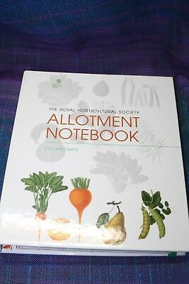 Gift for keen GARDENER: Allotment notebook from Royal Horticultural Society