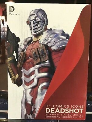 DC Collectibles DC Comics Icons: Deadshot Statue NEW IN BOX