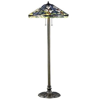 60 Inch Bronze Floor Lamp,Ornate Bronze Metal Base Provides Design And Stability