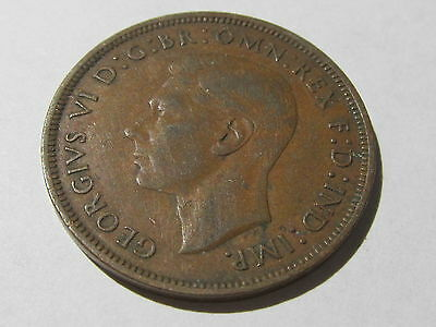 1940 great britain one penny coin