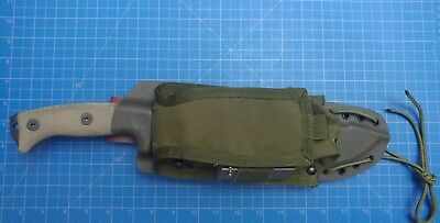 esee junglas kydex sheath with condor pouch od green