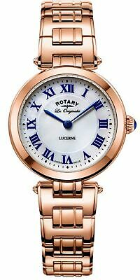 LB90189/41 NEW Rotary Ladies Rose Gold Plated Bracelet Watch