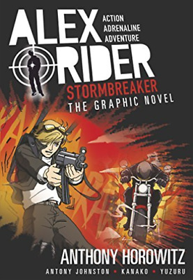 Horowitz,a-Stormbreaker Graphic Novel  Book New