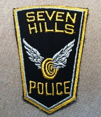 OH Seven Hills Ohio Police Patch
