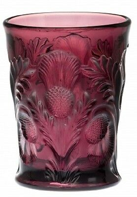 Tumbler - Inverted Thistle - Mosser USA - Amethyst Glass