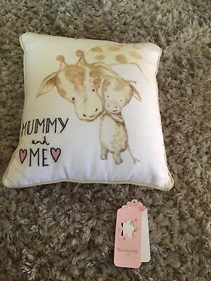 Mummy & Me Cushion, New With Tags