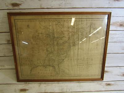 Antique Map Correct Map of the United States of North America Dated 1784