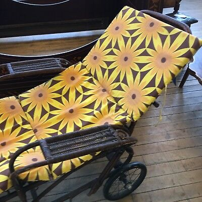 Harrods Art Deco Sofa Day Bed Chaise, Sun Lounger Early Century ! Beautiful