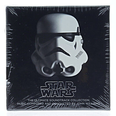 Williams, John (W/dvd)-Star Wars: The Ultimate Soundtrack Collection Cd New
