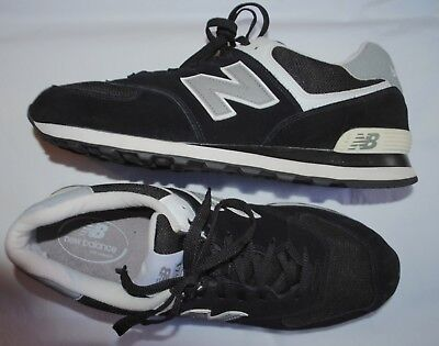 New Balance Men's Classics Traditionals 574 Black Gray White M574SKW size 13