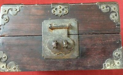 Old Chinese trinket or document box.