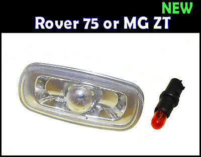 NEW - Complete Side Repeater Lamp - Rover 75 or MG ZT