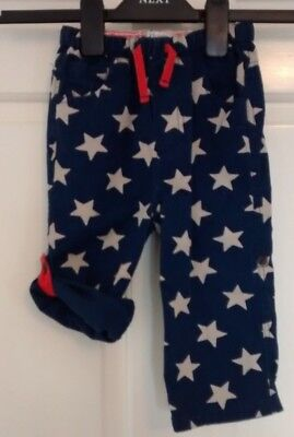 Mini Boden Baby Boys Star Turn Up Trousers/Shorts 18-24 Months