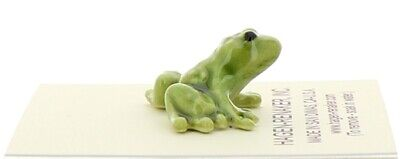 Frog Baby Miniature Ceramic Figurine Made in the USA by Hagen-Renaker
