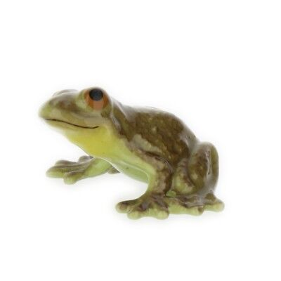 Timid Frog Miniature Ceramic Figurine Made in the USA by Hagen-Renaker