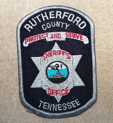 TN Rutherford Tennessee Police Patch