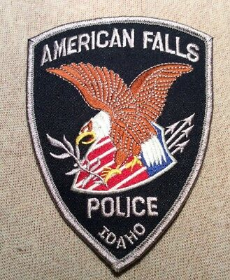 ID American Falls Idaho Police Patch