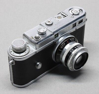 Detrola 400 35mm Rangefinder Camera w/ Wollensak Velostigmat 50mm Lens