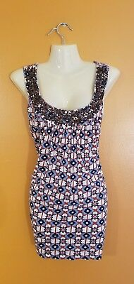 120e23f168c Women s Plus Size 3XL Floral Tank Top Shirt Layer Beaded Neckline Cute  Casual
