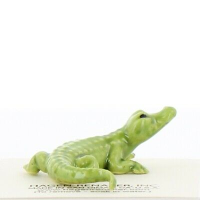 Green Alligator Miniature Figurine Made in the USA by Hagen-Renaker