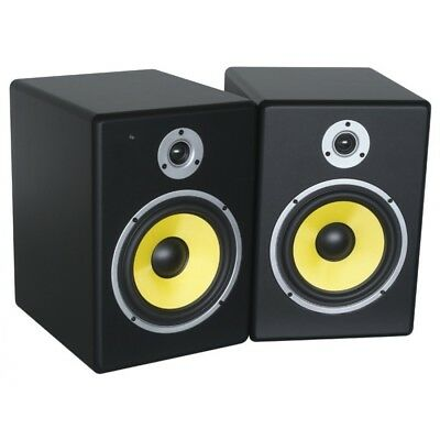 Pdsm8 Power Dynamics Active 8-Inch Studio Monitor Pair – Brand New In Sealed Box