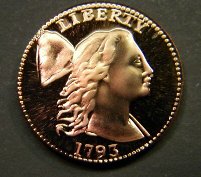 US 1793 Liberty Cap Large Cent Gallery Mint Museum GMM Coin Facsimile Token