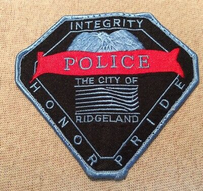 MS Ridgeland Mississippi Police Patch