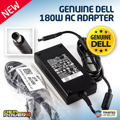 DELL 180W AC Adapter POWER SUPPLY CHARGER ADP-180MB 074X5J 0DWG4P 0JVF3V DA180PM