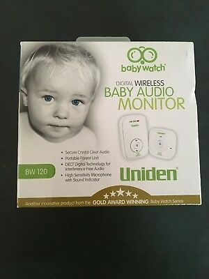 Uniden Digital Wireless Baby Audio Monitor
