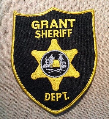 WV Grant County West Virginia Sheriff Patch