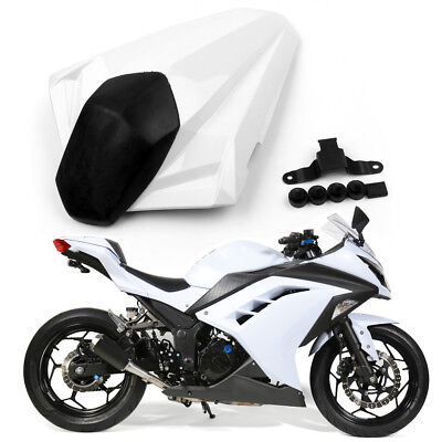 Motorcycle Rear Seat Cover cowl For Ninja 300R / EX300R 2013-2014 White AU