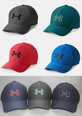 Under Armour Youth Boys' UA Blitzing 3.0 Cap #1305457 Stretch Fit Baseball Hat