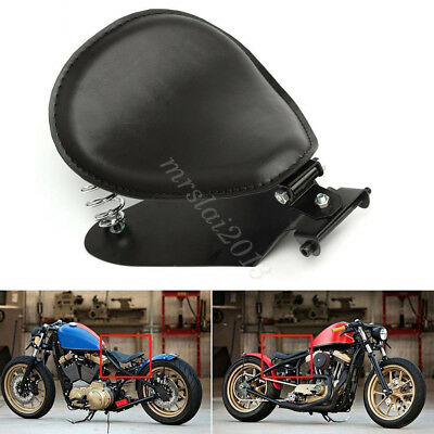 Motorcycle Solo Seat Spring Bracket Base Seat Mount For Harley Sportster Honda