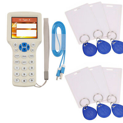 Smart Frequency RFID ID Card Copier IC Contactless Reader Writer Duplicator