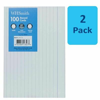 2 x whsmith record cards 6 x 4 size white pack of 100 628 2 x whsmith record cards 6 x 4 size white pack of 100 reheart Images