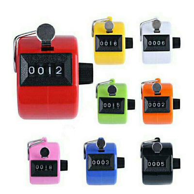 4-Digit Counter Universal Portable Mechanical Golf Clicker Tally Counting