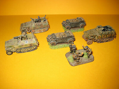 Flames of War - Germans - Deutsche - Company - Artillery - Tank - HQ