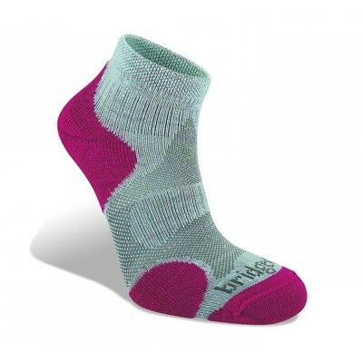 Bridgedale Coolfusion Multisport Women's Sock Grey and Raspberry Small